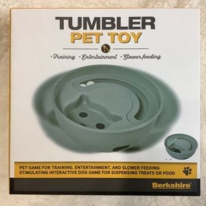Berkshire Tumbler Pet Toy Treat Feeder Dispenser